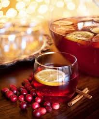 fresh cranberry orange punch how awesome would this be on