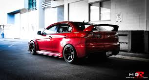 mitsubishi evo red review 2010 mitsubishi lancer evolution x gsr modified u2013 m g