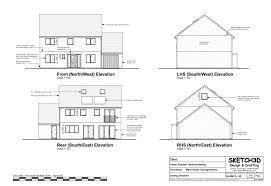 build a house plan exle self build house plans low energy lifetime home