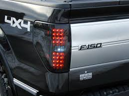 2016 f150 led tail lights recon 264168bk ford f150 and raptor straight style side led tail