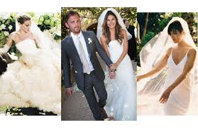 vera wang wedding dresses vera wang s 10 greatest wedding dresses vogue