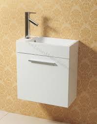 Narrow Cabinet Bathroom by Vs Alexius White 20