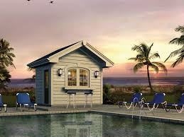 Pool Houses And Cabanas Sunshine Point Pool Cabana Plan 009d 7529 House Plans And More
