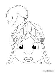 knight head coloring pages hellokids com