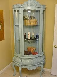 curved corner curio cabinet curved corner cabinet auberge iii curved corner curio cabinet