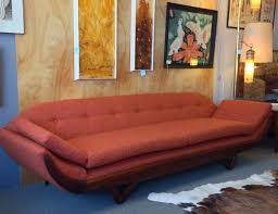 Adrian Pearsall Gondola Sofa Remnant Now Available