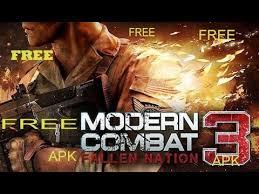 modern combat 3 apk free modern combat 3 fallen nation apk mod data free