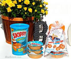Halloween Goodie Bags Skippy Singles Peanut Butter Gluten Free Halloween Treat Bags