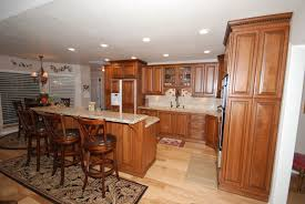 starmark cherry cabinets in butterscotch with chocolate glaze