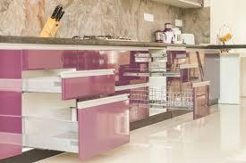 Design Of Modular Kitchen Cabinets Modular Kitchen Designs Baskets In Bangalore Chandra Hardware