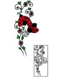 ladybug tattoo like this without the daisy for the