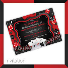 Printable Halloween Invites Casino Invitations Afoodaffair Me