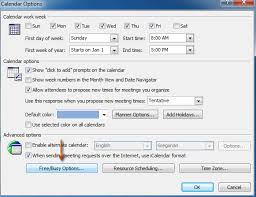 change calendar layout outlook 2013 how to set permission for viewing free busy information in outlook