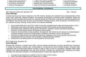 Branch Manager Resume Sample by Union Organizer Resume Reentrycorps