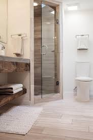 Bathroom With Corner Shower Fixer S Best Bathroom Flips Hgtv Midcentury Modern And