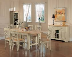 Dining Tables  Distressed White Table And Chairs Shabby Chic - Shabby chic dining room furniture