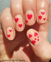 valentines nail art u2013 wonderfulwolf