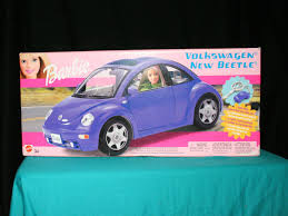 barbie toy cars vintage volkswagon new beetle barbie toy car 2003 on storenvy