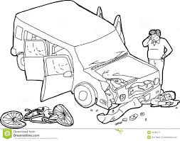 wrecked car drawing car accident drawings dolgular com