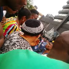 lexus kempton park breaking police and nigerians in standoff at arwyp following