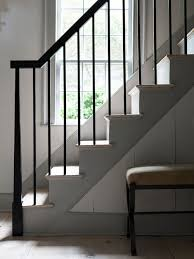 Contemporary Stair Rails And Banisters Best 25 Farmhouse Stairs Ideas On Pinterest Cottage Cottages