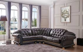 left facing chaise sectional sofa brown leather versace sectional sofa left or right facing chaise