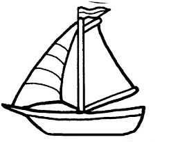 sailboat coloring page cliparts co