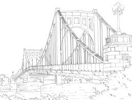 detailed line drawing bridges Google Search