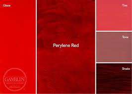 red paint perylene pr 149 draw mix paint forum