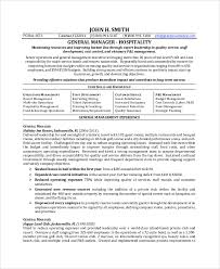 General Manager Resume Sample by Examples Of General Resumes General Manager Resume Examples