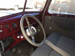 Vintage Ford Truck Steering Wheel - 1947 ford panel truck for sale classiccars com cc 940571