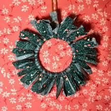 rag wreath ornament ornament along 7 mister domestic