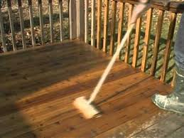 How To Remove Wood Stains by Wood Deck Staining How To Remove Failed Stain Youtube