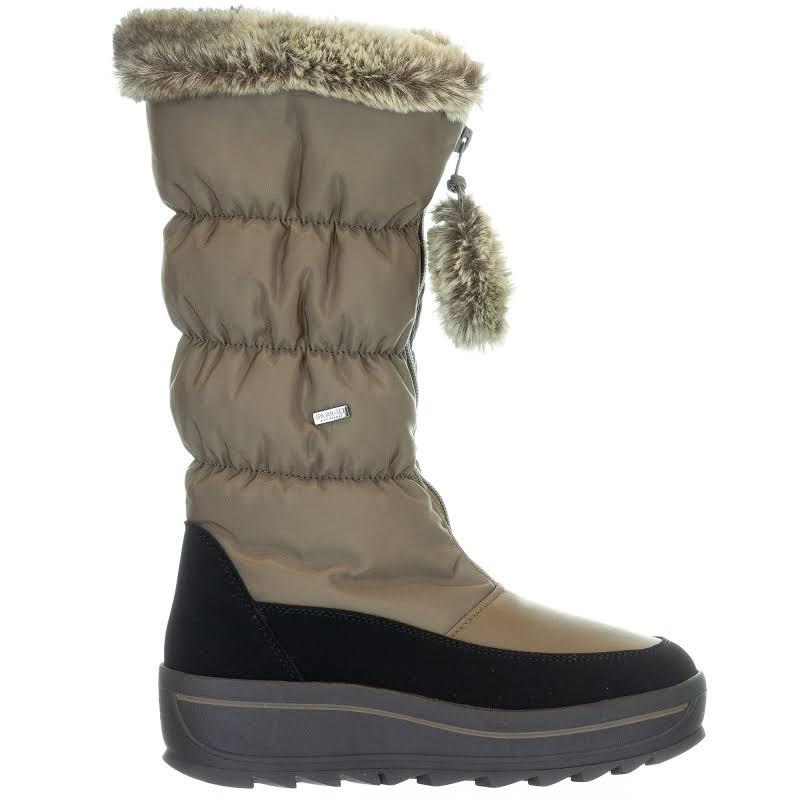 Pajar Toboggan 2.0 Nylon Waterproof Snow Boots Taupe 38 EU/7-7.5 US