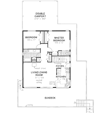 traditional style house plan 2 beds 1 50 baths 1080 sq ft plan