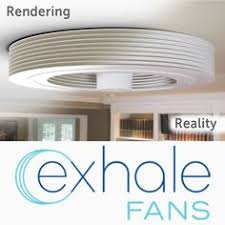 bladeless ceiling fan with light exhale fans world s first truly bladeless ceiling fan home