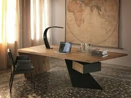 bureau design moderne bureau bois design wooden metal desk mango int rieur 2 free et