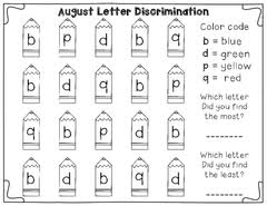 B And D Worksheets Mrs Pritchett S Printables Shop 1 20 Of 38