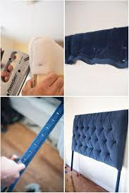 How To Make Your Own Fabric Headboard by Best 20 Velvet Headboard Ideas On Pinterest Tufting Diy Foam