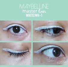 Eyeliner Putih Maybelline maybelline master liner white wh 1 silver treasure on