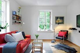 apartment studio design ideas ikea living room with bookshelves