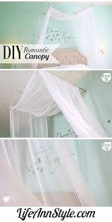 how to make bed canopies diy romantic bed canopy ann le style