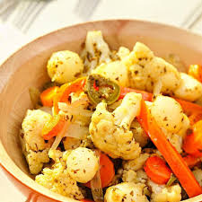 Vegetables by Elvia U0027s Mexican Pickled Vegetables Recipe Eatingwell