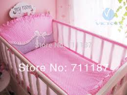 Crib Bedding Sets For Cheap Cute Pink Cot Bedding Sets For Newborn Good Quality Baby Bedding