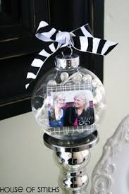 photo craft ideas ornament picture ornaments and holidays