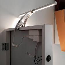 built in ribba lighting stave mirror ikea hackers ikea hackers