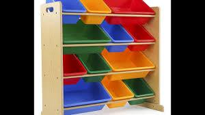 review tot tutors kids u0027 toy storage organizer with 12 plastic