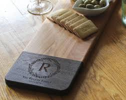 engraved cheese board custom cheese board etsy