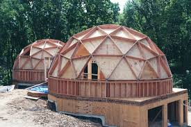Dome Homes Floor Plans Your Guide To Wood Frame Dome Home Construction