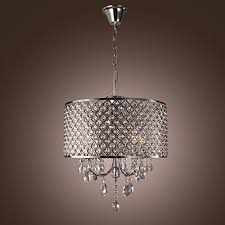 Metal Chandeliers Y L 60w Traditional Chrome Metal Chandeliers Flush Mount